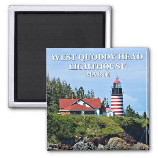 Quoddyの西のヘッド灯台、メイン マグネット