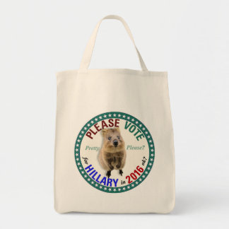 Quokkaは頼みます: 投票して下さい トートバッグ
