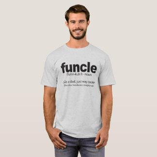 Quote Funcle定義おもしろいな叔父さん Tシャツ