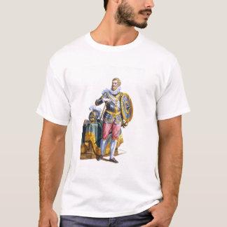 「RからのパーマのアレッサンドロFarneseの(1546-92年の)公爵 Tシャツ
