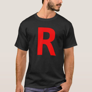 Rのワイシャツ Tシャツ