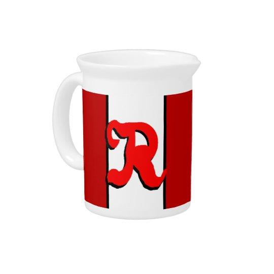 Rの水差し 飲み物ピッチャー