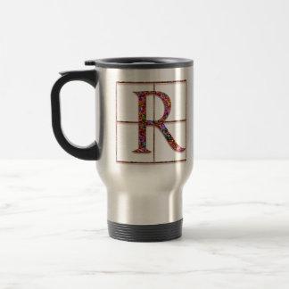 """Rの""""ケルト族の煉瓦""""カスタムなモノグラムのマグ トラベルマグ"""