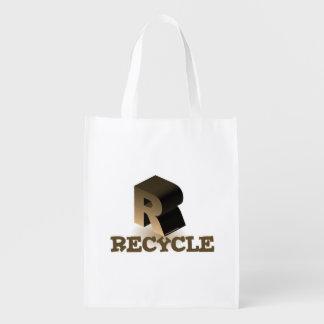 Rはリサイクルのためです エコバッグ