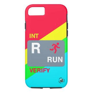Rは操業(完全なデザイン)電話箱のためです iPhone 8/7ケース