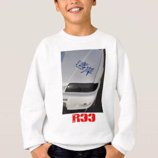 R33はさみ金 スウェットシャツ