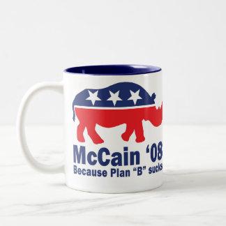 R (h)のinoのMcCain 「08のマグ ツートーンマグカップ