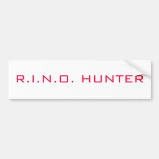 R.I.N.O. ハンター バンパーステッカー