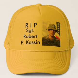 R I PのロバートP. Kassin下士官 キャップ