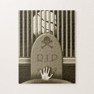 R.I.P. 墓地の重要なハローウィンパーティの活動 ジグソーパズル