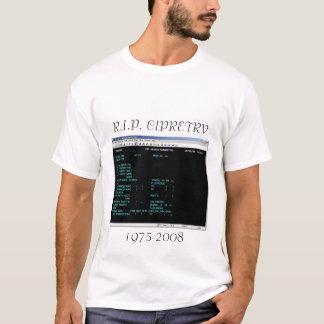 R.I.P. CIPRETRV 1975-2008年 Tシャツ
