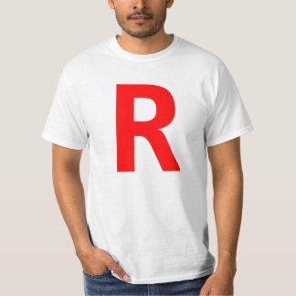 R Tシャツ