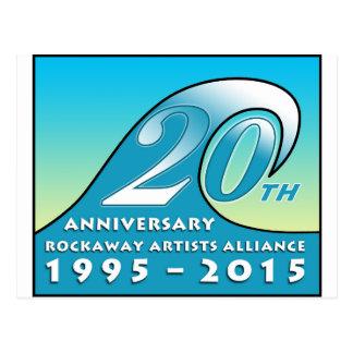 RAA第20記念日のスワッグ ポストカード