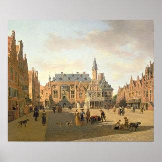 Raadhuisの市場 ポスター