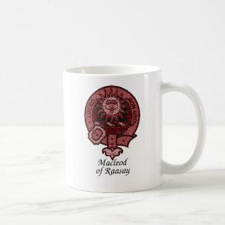 Raasayの一族の頂上のMacleod コーヒーマグカップ