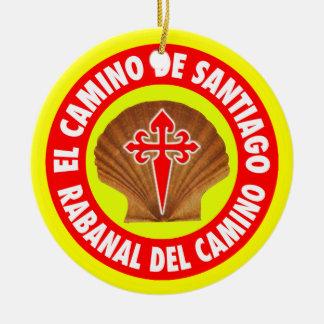 Rabanal Del Camino セラミックオーナメント
