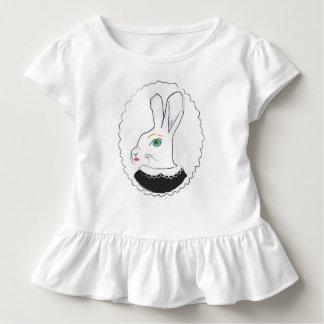 Rabbitによって夫人波立たせられるTシャツ トドラーTシャツ