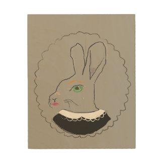 Rabbit夫人の木の芸術 ウッドウォールアート
