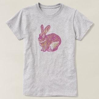 Rabbit Pink - Ladies Tシャツ