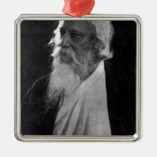 Rabindranath Tagore メタルオーナメント