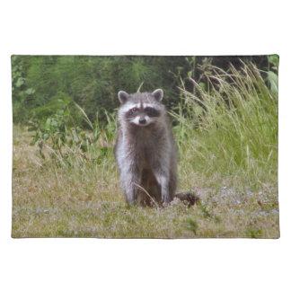 Raccoonママ ランチョンマット