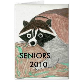 Raccoon0001の先輩   2010年 カード