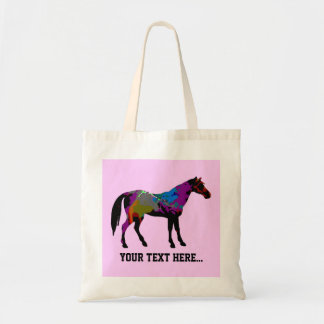 Race Horse Personalised トートバッグ