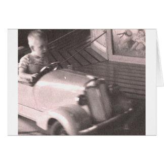 Racecarの男の子 カード