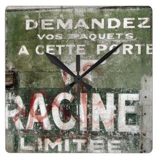 Racine株式会社 スクエア壁時計