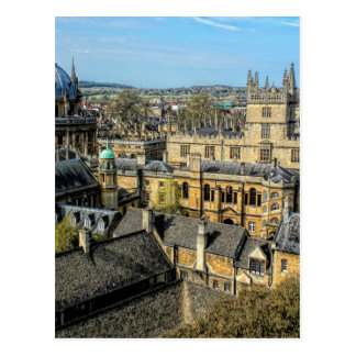 RadcliffeのカメラおよびBodleianの図書館オックスフォード ポストカード