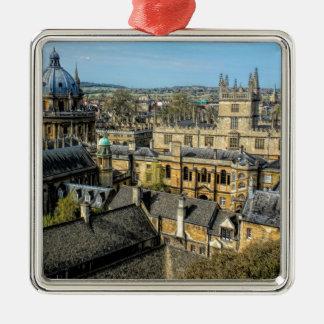 RadcliffeのカメラおよびBodleianの図書館オックスフォード メタルオーナメント