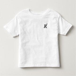 Radcliffeの乗組員の幼児のワイシャツ(白い) トドラーTシャツ