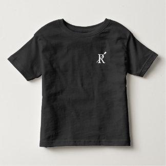Radcliffeの乗組員の幼児のワイシャツ(黒) トドラーTシャツ