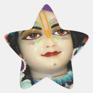 RADHA Krishna -私のハートのコレクションの… 星シール