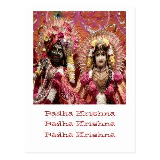 Radha KRISHNA  for Love, Peace n Prosperity ポストカード