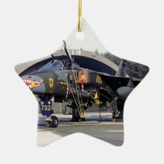 RAF 54の艦隊SEPECATのジャガーGR.1 XX732 (1979年) セラミックオーナメント