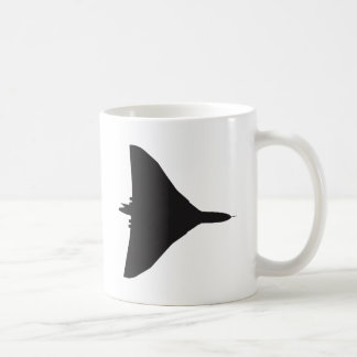 RAF Vulcanの爆撃機 コーヒーマグカップ
