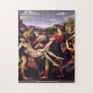 Raffaello Santi -キリストのパズルの埋葬 ジグソーパズル