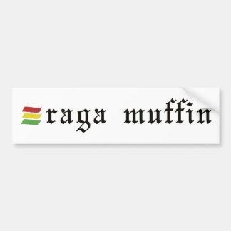 Ragaのマフィンのステッカー バンパーステッカー