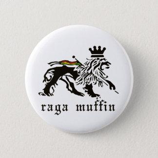 RagaのマフィンのJudahボタン 5.7cm 丸型バッジ