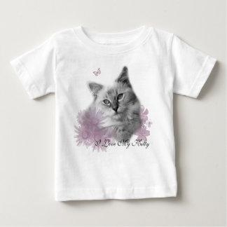 Ragdollの名前入りなベビーのTシャツ ベビーTシャツ