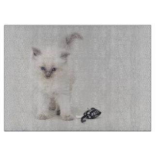 Ragdollの子ネコ カッティングボード