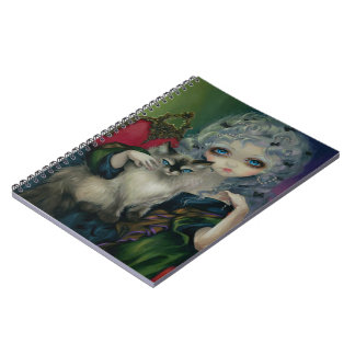 """Ragdoll猫""のノートを持つプリンセス ノートブック"