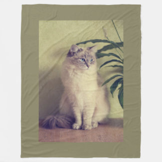Ragdoll猫 フリースブランケット