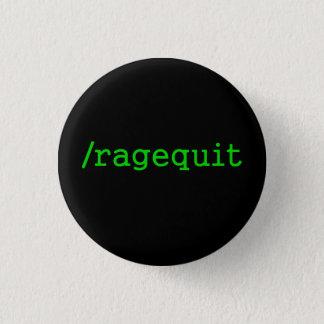 Ragequitのゲーマー 3.2cm 丸型バッジ