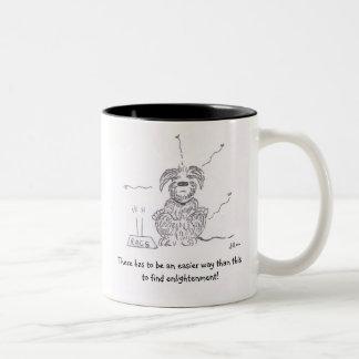 Raggy犬-より穏やかなカルマ! ツートーンマグカップ