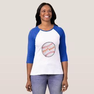 RaglanのTシャツ3/4の袖の野球のDillyのDilly Tシャツ