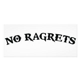 Ragrets Mispelledは入れ墨を後悔しません カスタマイズラックカード