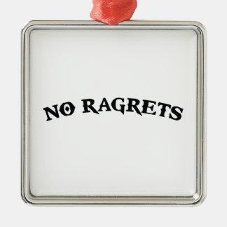 Ragrets Mispelledは入れ墨を後悔しません メタルオーナメント