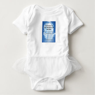 RagsからBABY王のTシャツの存在への ベビーボディスーツ
